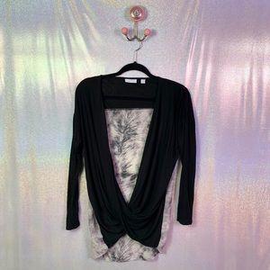 New York & Company | Draped Long Sleeve Top